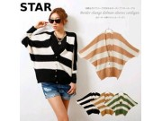 Batwing Cardy Knit